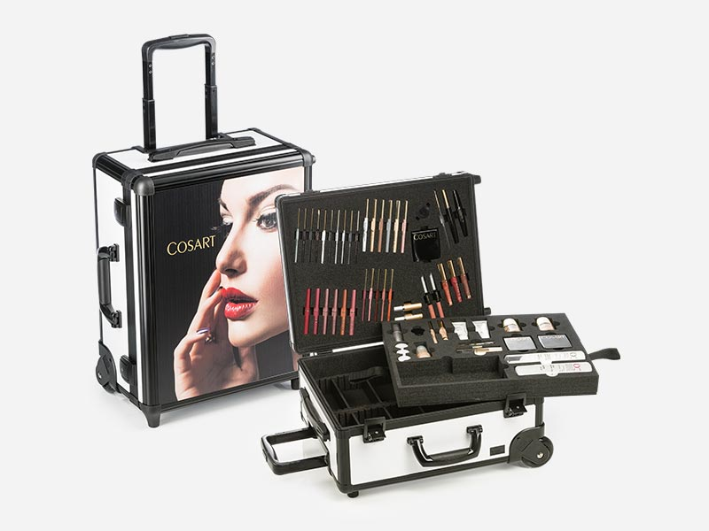 collection case for the cosmetics industry