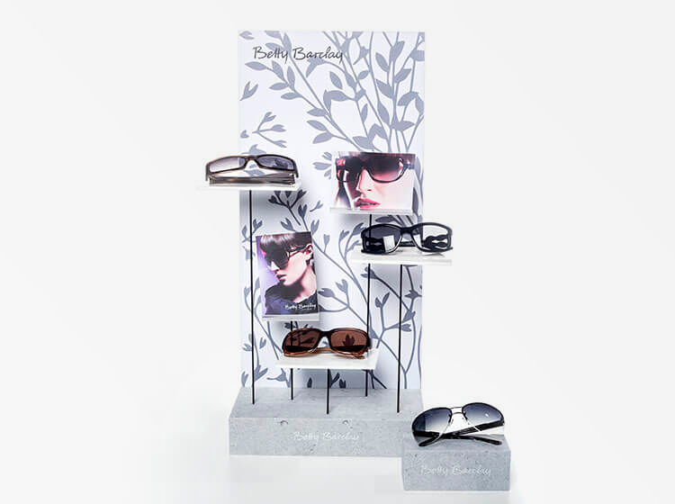 displays for Seko eyewear