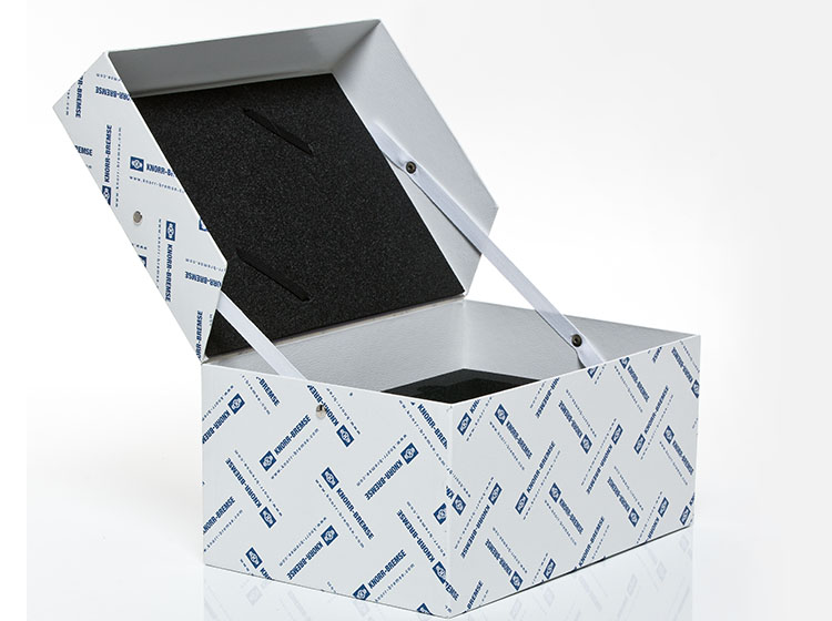 cardboard packaging for Knorr Bremse
