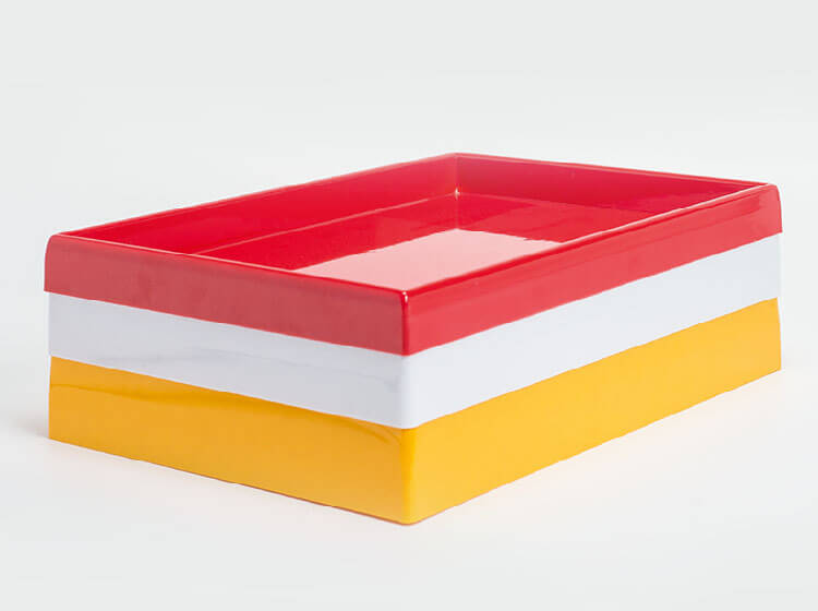 Stackaple poly trays