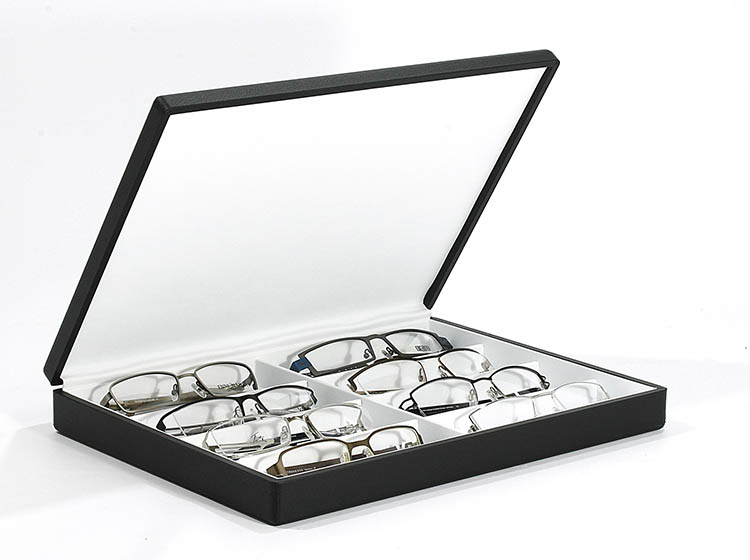 Boxes for spectacles and sunglasses