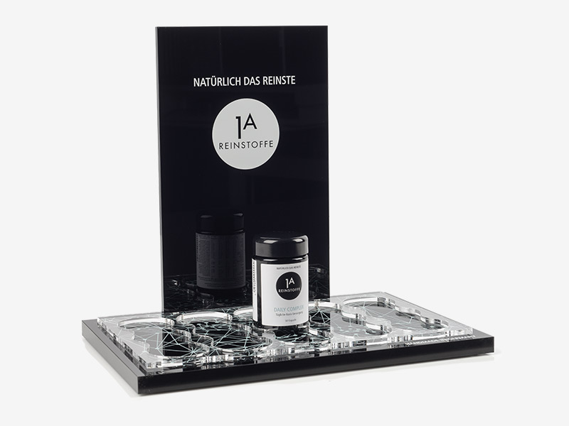 Acrylic Display for cosmetics industry