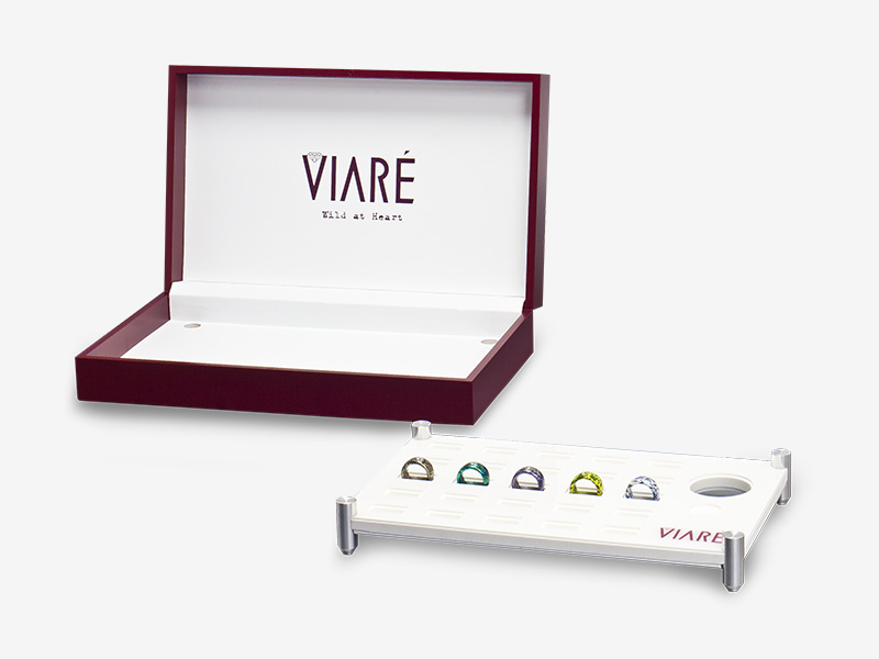 Jewellery boxes for Viare