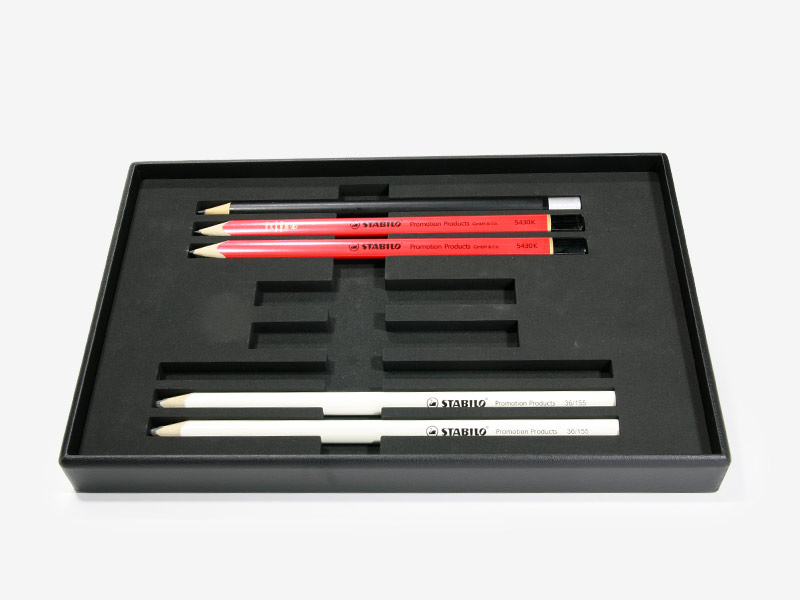 pen case and pen tray