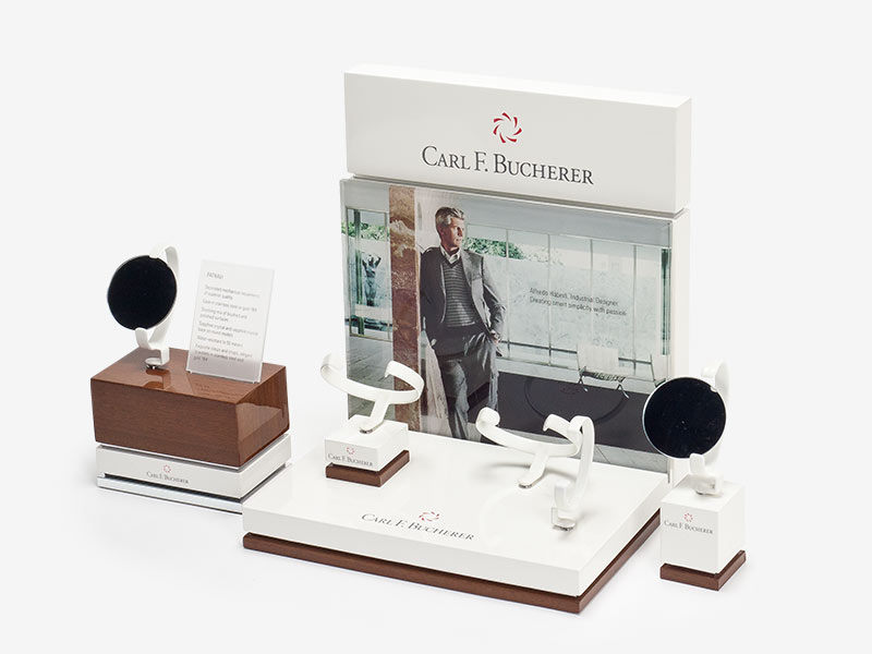 POS Display - Display für Point of Sale für Carl. F. Bucherer