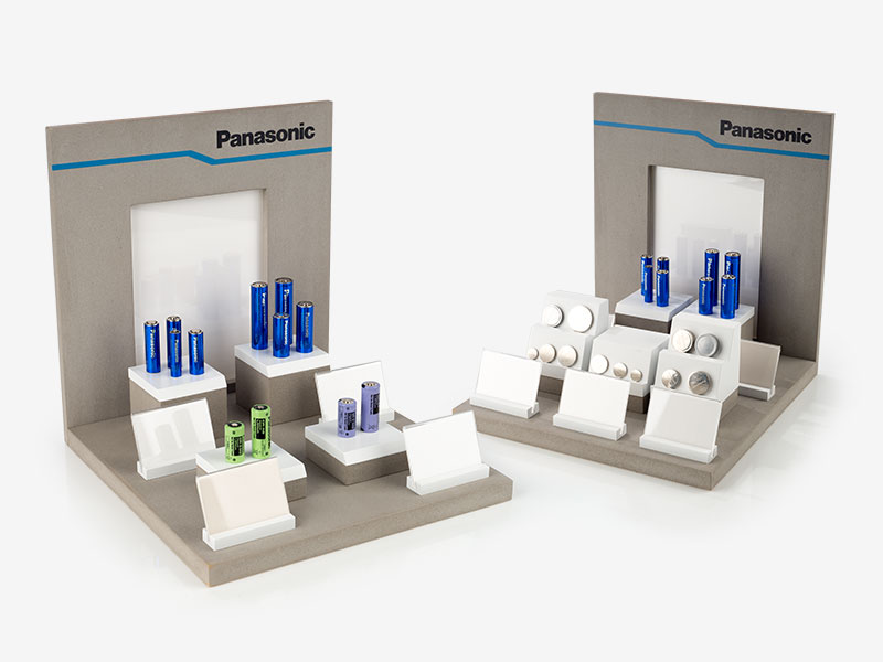 Presentation display for cosmetics
